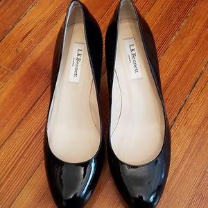 LK Bennett Black Patent Heels